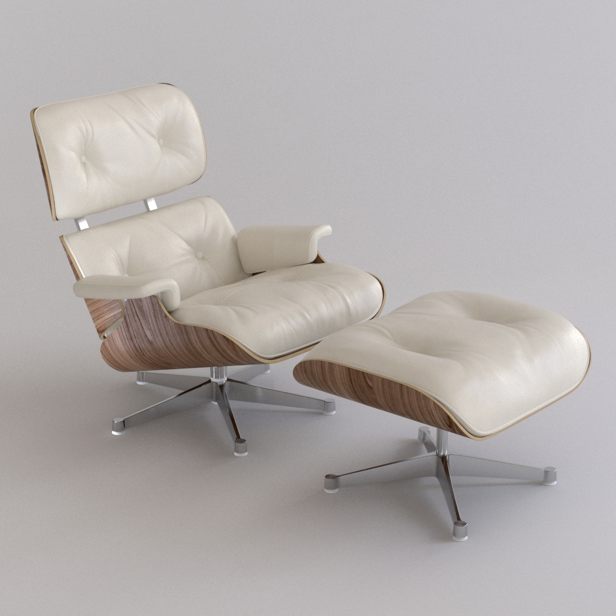 Terrific Eames Lounge Chair Ottoman Theyellowbook Wood Chair Design Ideas Theyellowbookinfo