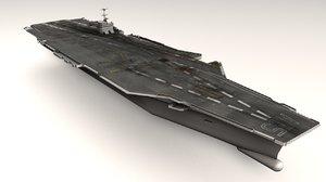 3d 3ds aircraft carrier