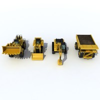 3d industrial vehicles