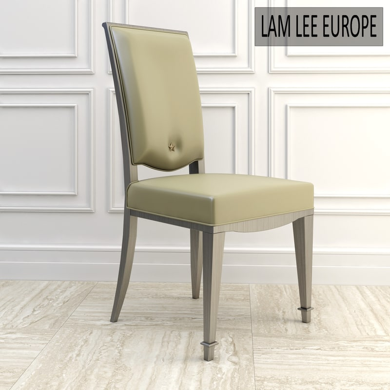 3d model chair dining