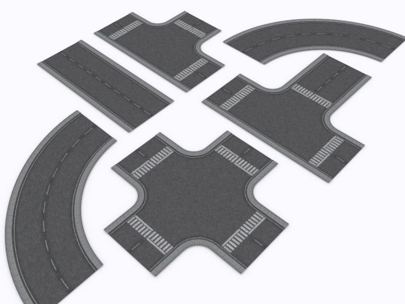pro road 3d model