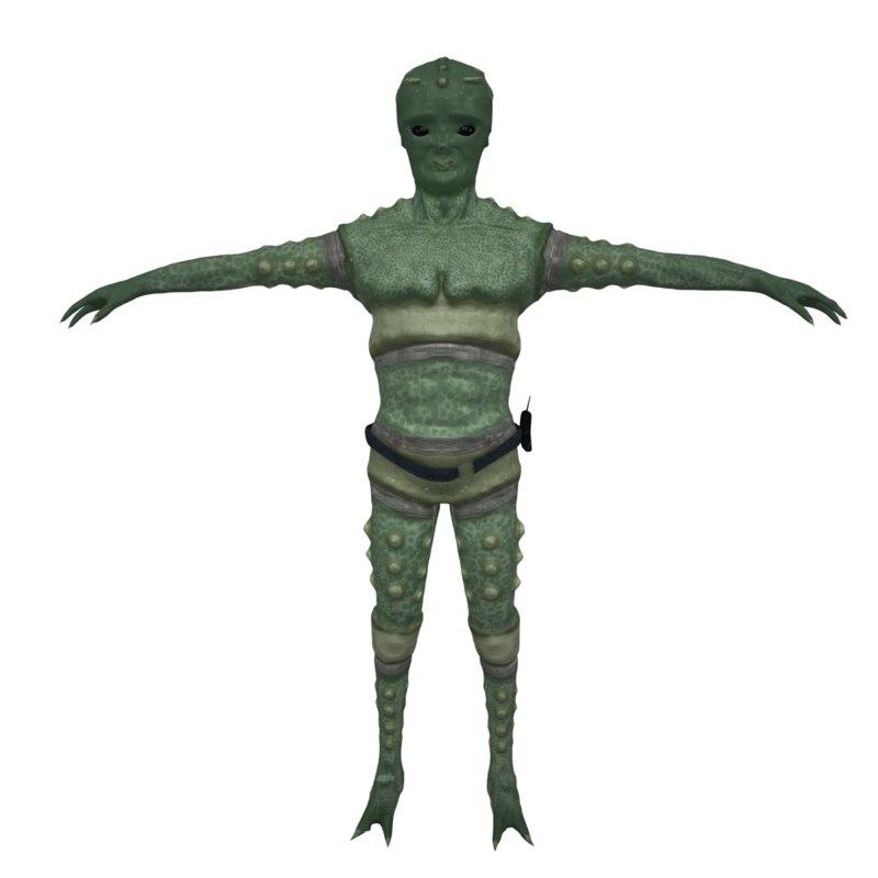 3dsmax alien