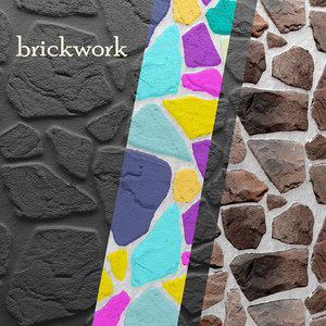bricks wall 3d max
