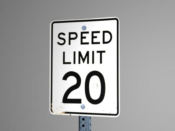 speed limit 3ds
