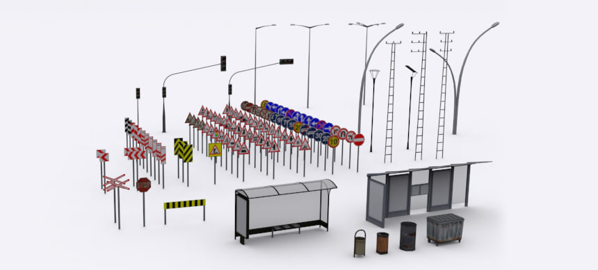 pro units pack 3d model