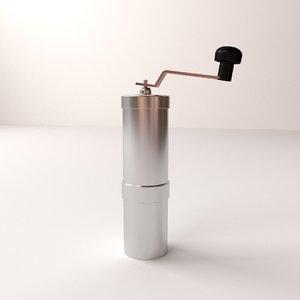 coffee grinder v2 3d 3ds