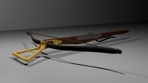 3ds max crossbow medieval