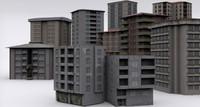 pro building mega pack 3d model