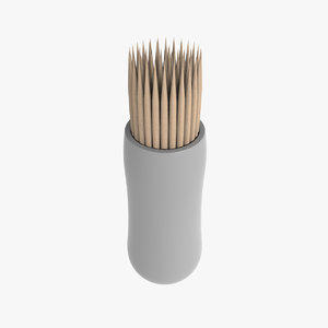 toothpicks table cleaning 3d model