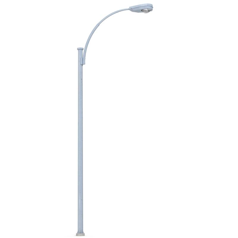 street lamp 2 3d 3ds
