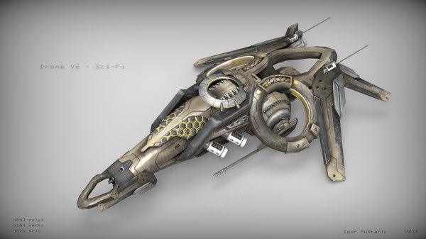 drone scifi max