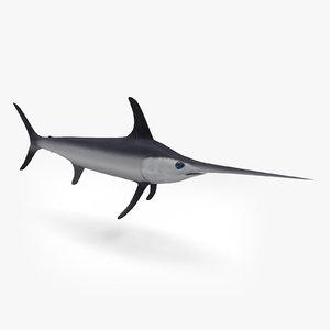 swordfish fish 3ds