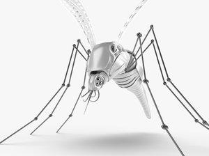 mosquito robot 3d model