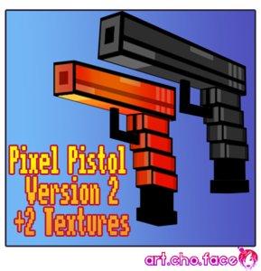 pistol pixel 2 3d 3ds