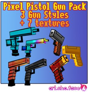 pistol pixel 3 guns 3ds