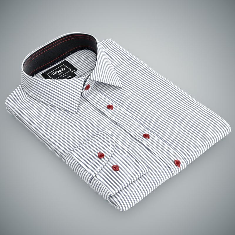 clothes shirt 3d model