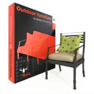 furniture outdoor 3d max