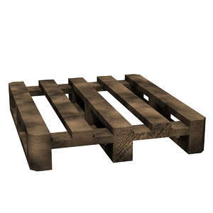 3d pallet lightwave model
