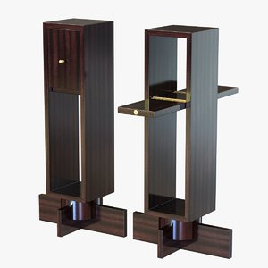 table doors 3d model