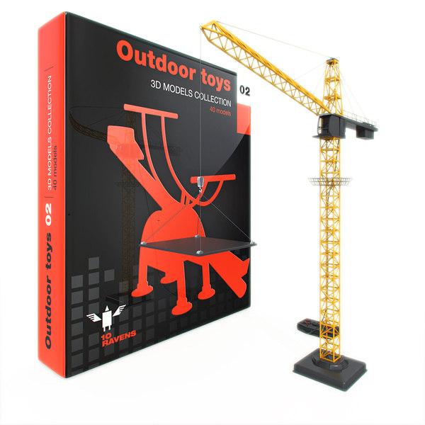 outdoor toy 3d model