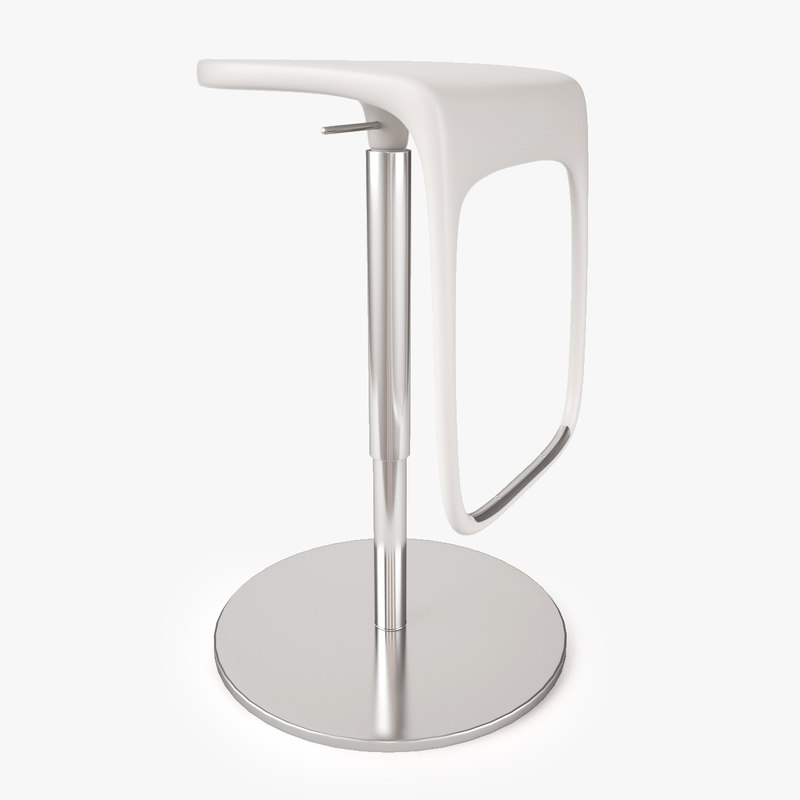 urban bar stool 3d max