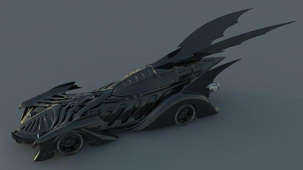 3d model batman forever