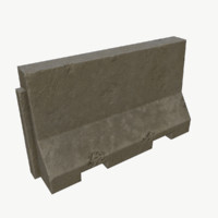 3d ready road barrier