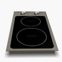 hob viz kitchen 3d 3ds