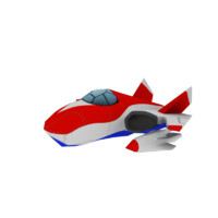 3d plane cartoon