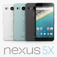 google nexus 5x lg 3d 3ds