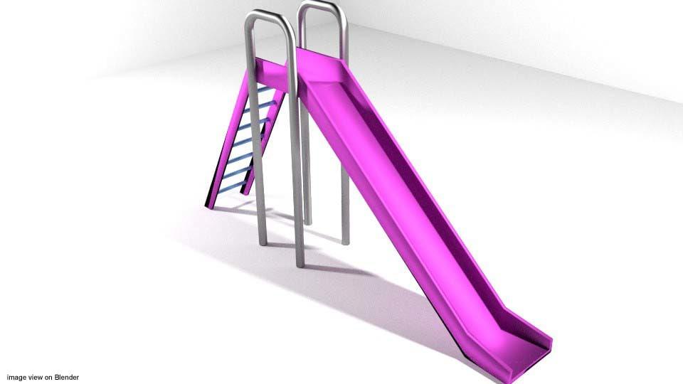 3d playground element model