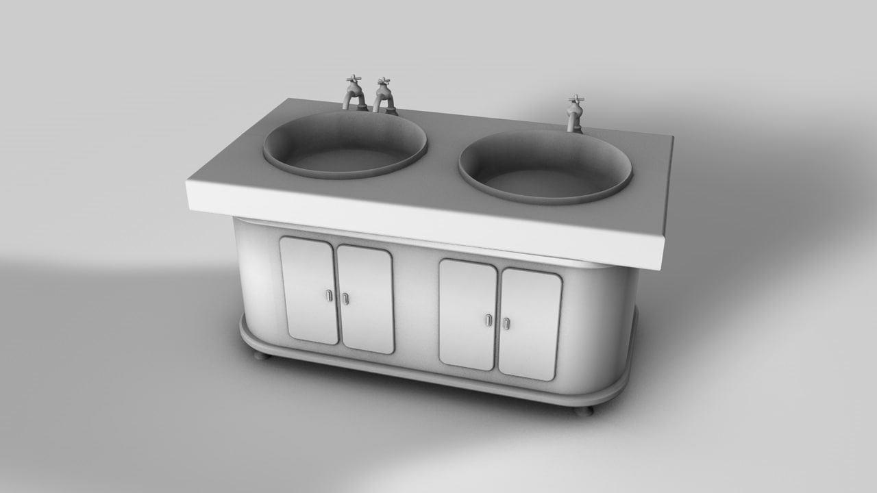 3ds max old sink