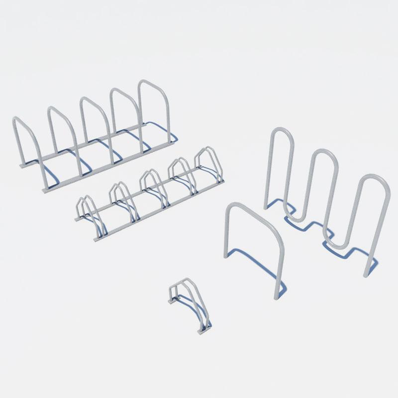 bike racks 3ds