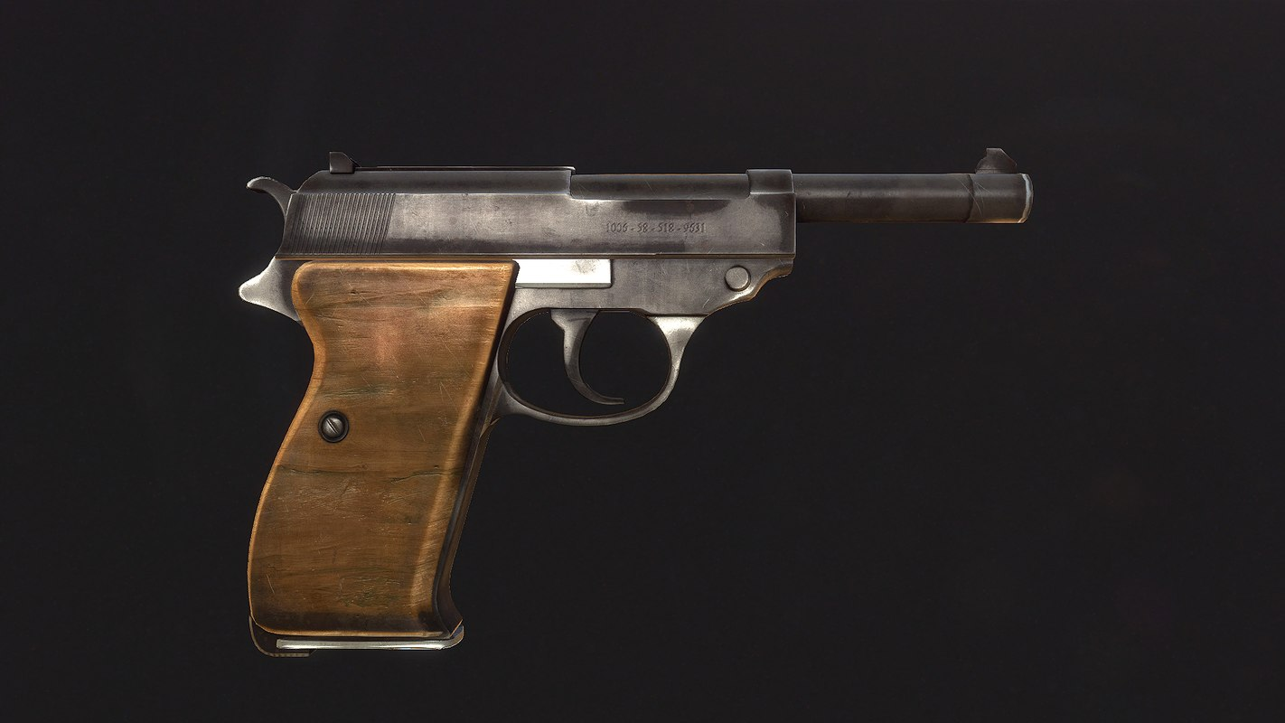 walther p38 3ds