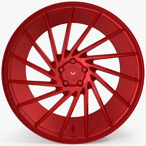 3d vossen vps 304 red
