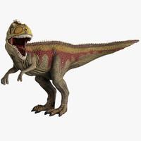 giganotosaurus toy 3d 3ds