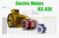 3d model iec motors cad 72