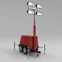 3d tower light generator