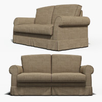 3d model of photorealistic sofa