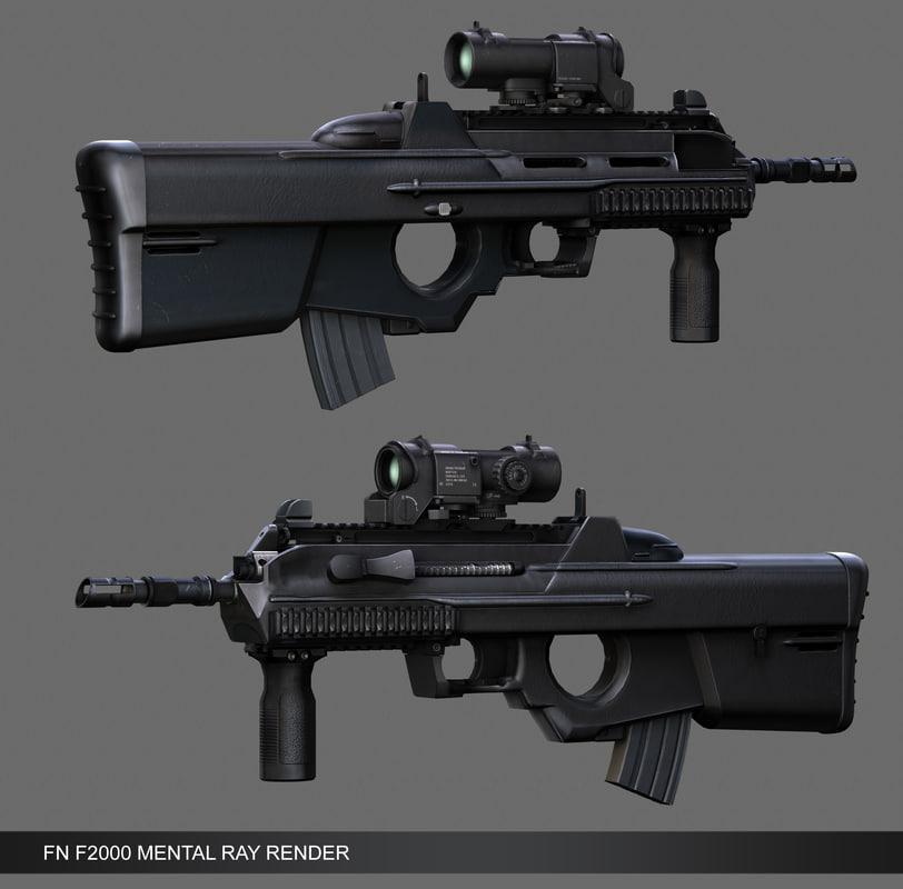 assault rifle obj