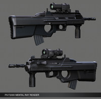 FN F2000 Assault Rifle