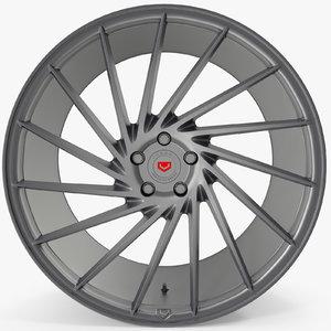 vossen vps 304 grey 3d max