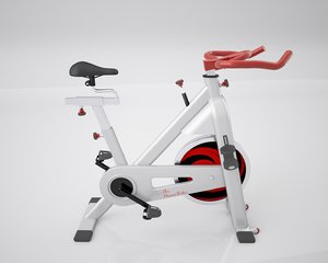 stationary bike spinning 3d c4d