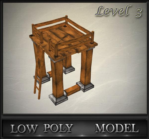 wood tower lvl 3 max