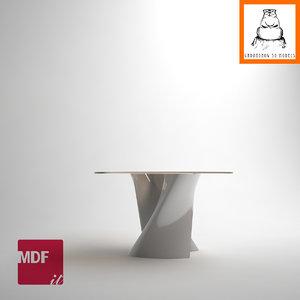 groundhog | mdf italia 3d obj