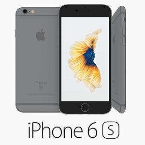 iphone 6s 3d obj