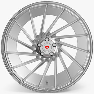 3d model vossen vps 304 chrome