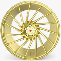 vossen vps 304 gold 3d max