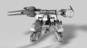 cinema4d metal gear rex