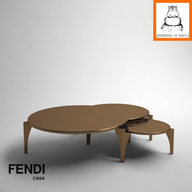 3d groundhog | fendi casa
